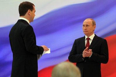Председатель Совета Директоров ГК «Останкино» Михаил Попов присутствовал на инаугурации В.В. Путина
