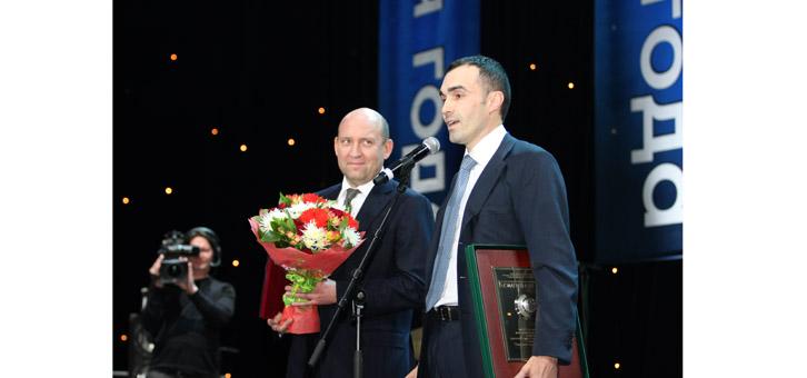 ОАО «Останкинский мясоперерабатывающий комбинат» - лауреат национальной премии «Компания года 2011»